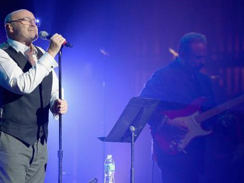 Phil Collins es el artista que vendió más entradas en Brasil este año