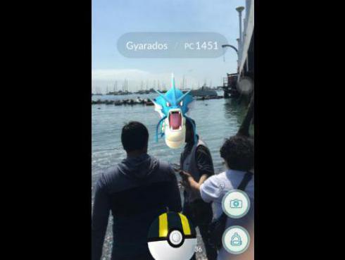 Aparición de un 'Gyarados' alborotó fans de Pokémon Go en La Punta, Callao [VIDEO]