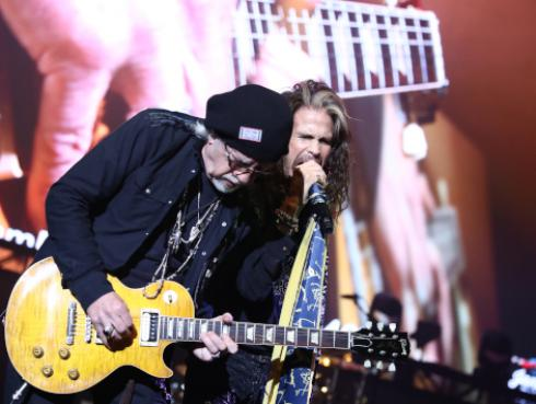 Posponen la ceremonia para la estrella de Aerosmith en el Paseo de la Fama [FOTOS]
