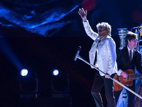 ¿Qué artista abrirá el concierto de Rod Stewart en Argentina?