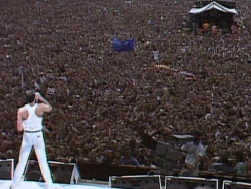Así se preparó Queen antes de ingresar al escenario en el mítico concierto en Wembley [VIDEO]