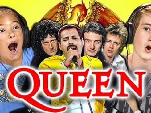 Estos niños enloquecieron al escuchar a Queen [VIDEO]