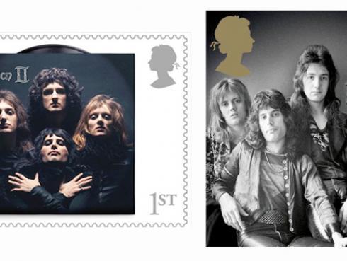Queen tendrá su propia estampilla en Reino Unido