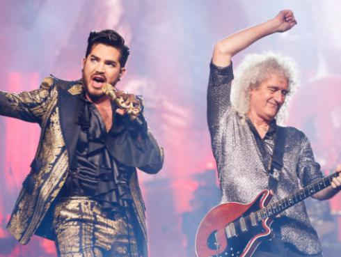 Queen y Adam Lambert dan inicio a su gira 'The Rhapsody Tour'