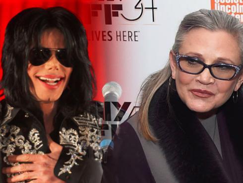 Recordemos la amistad de Michael Jackson y Carrie Fisher