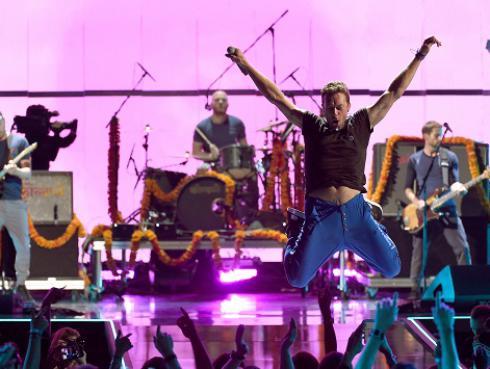 Recuerda el primer concierto de Coldplay