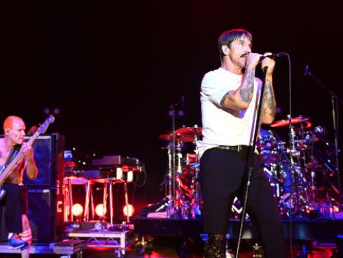 Red Hot Chili Peppers actuará en la 61 edición de los Premios Grammys