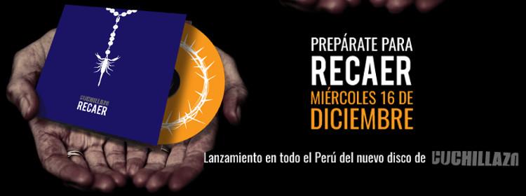 Cuchillazo presenta 'Recaer', su nueva placa