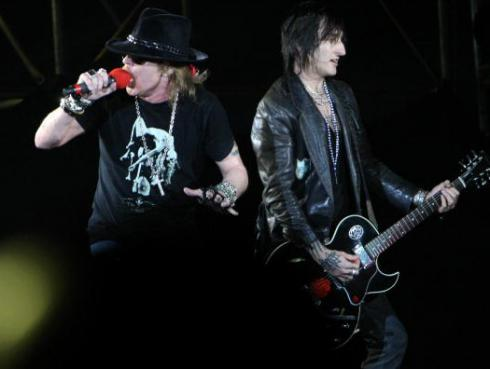 Richard Fortus sobre Guns N' Roses: