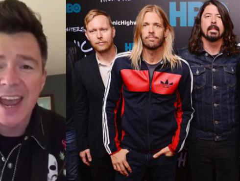 Rick Astley sorprende con cover de 'Everlong' de Foo Fighters [VIDEO]