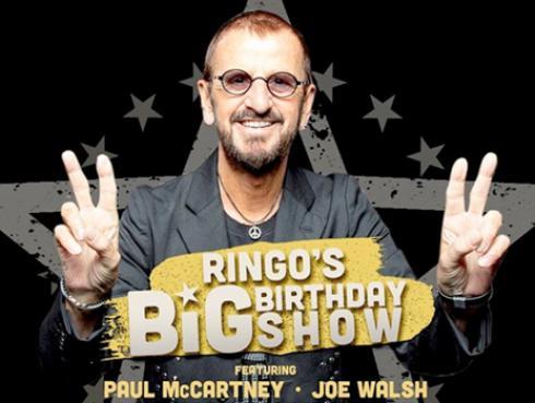 Ringo Starr festejará su cumpleaños con concierto virtual