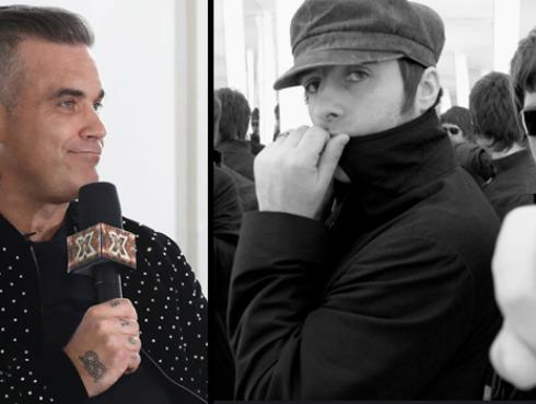 Robbie Williams criticó a Liam Gallagher y a Oasis