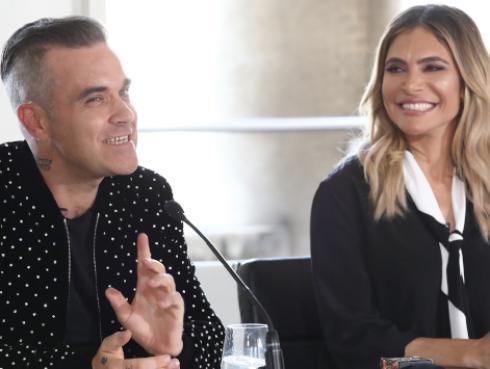 Las fuertes bromas que Robbie Williams y su esposa se juegan