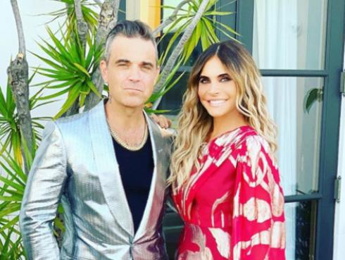 Robbie Williams le pidió matrimonio nuevamente a Ayda Field