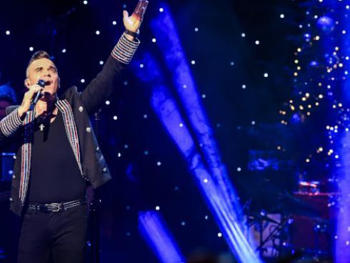 Robbie Williams no quiere que Coldplay le quite el éxito