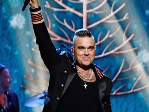 """Robbie Williams sobre la Navidad: """"Es un momento de amar y de comer en exceso"""""""