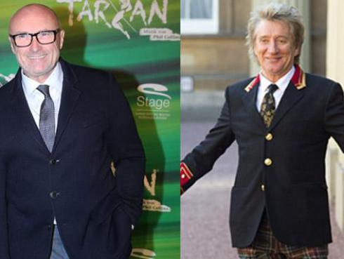 Rod Stewart y Phil Collins son los preferidos del público argentino