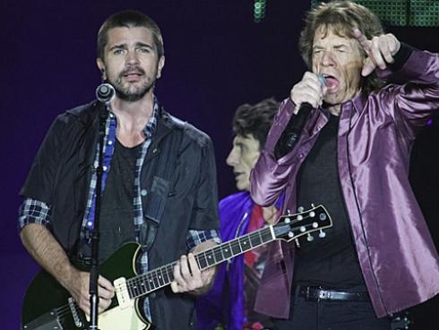 ¡Rolling Stones tocaron junto a Juanes en Colombia! [FOTOS Y VIDEOS]
