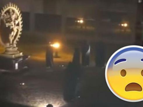 Graban supuesto sacrificio humano en Centro Europeo de Investigación Nuclear [VIDEO]