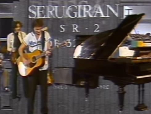 ¡Sale video inédito de Charly García junto a Serú Girán de hace casi 40 años!