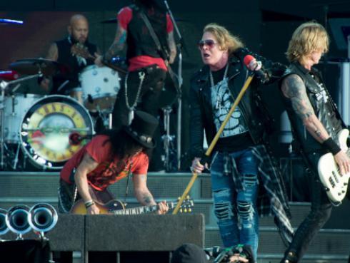 Se confirma próximo disco de Guns N' Roses
