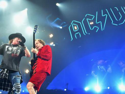 ¿Se viene nuevo disco de AC/DC junto a Axl Rose?