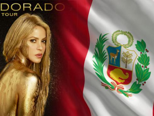 ¡Shakira incluyó a Perú en su gira El Dorado World Tour!