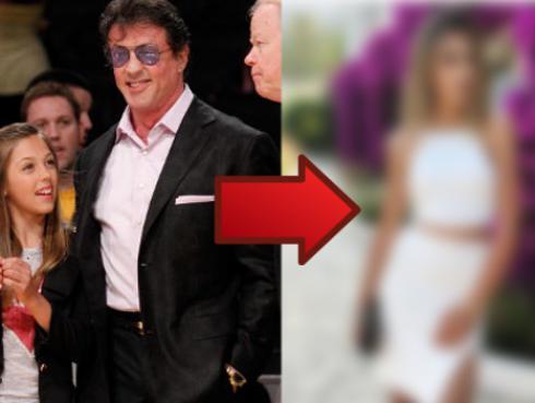 Hija de Sylvester Stallone ya tiene 18 años y no creerás cómo luce hoy [FOTOS]