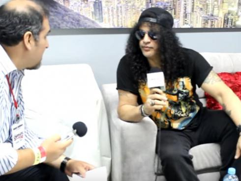 ¡Revive la entrevista en exclusiva que le hicimos a Slash en su anterior visita al Perú! [VIDEO]