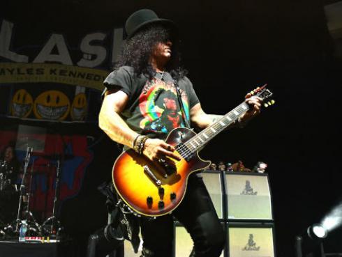 Slash manifiesta su gusto por la música peruana