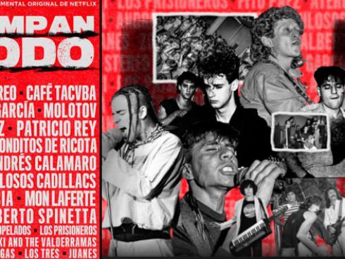 Soda Stereo, El Tri, Charly García, Fito Páez, Molotov serán parte de la serie documental 'Rompan Todo'