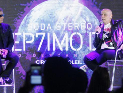 Ex integrantes de Soda Stereo anuncian DVD, disco y demás tras show de 'Séptimo día'