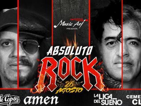 Mar de Copas, La Liga del Sueño y Amén encabezan el nuevo festival 'Absoluto Rock'