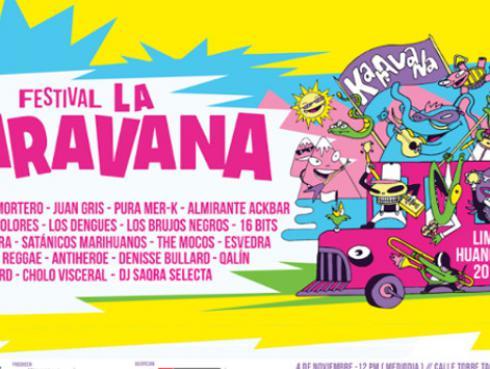 El festival La Karavana llega a Huancayo [VIDEOS]