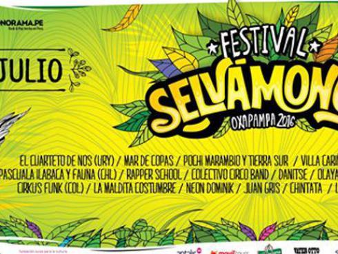 Festival Selvámonos de Música y Artes de Oxapampa llega con fuerte mensaje social y cultural