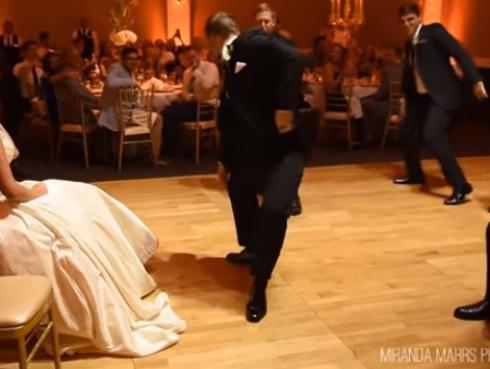 Novio prepara sorpresa para el día de su matrimonio y se vuelve furor en YouTube [VIDEO]