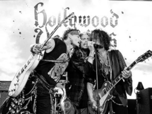 Steven Tyler y Johnny Depp tocaron juntos en concierto