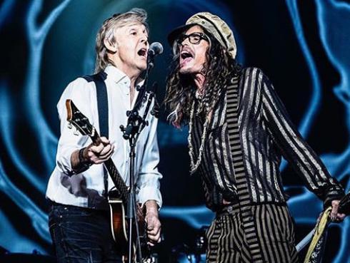 Steven Tyler y Paul McCartney sorprenden con actuación en vivo y tema de los Beatles