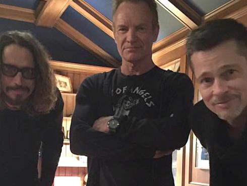 Sting y Chris Cornell se unieron en el escenario por una buena causa [VIDEO]