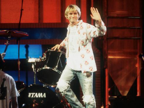Subastarán la bata que usó Kurt Cobain durante el Reading Festival en 1992