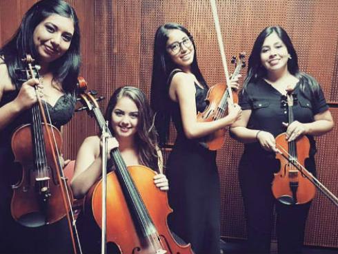 Escucha 'Sweet Child O' Mine' en versión de las peruanas de Blú Quartet