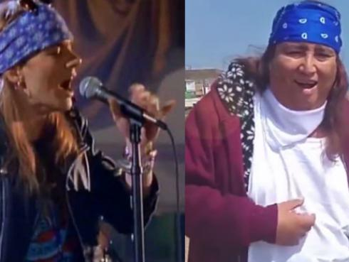 ¡Tongo y su versión de 'Sweet Child O'Mine de Guns N' Roses! [VIDEO]