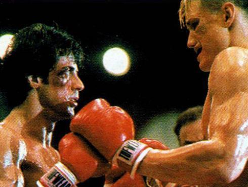¡'Rocky' e 'Iván Drago' se reencuentran! [FOTOS]