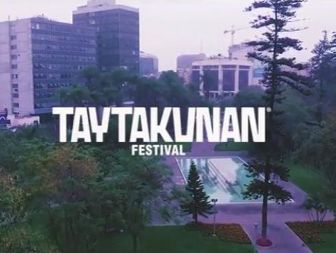 ¡Checa la impresionante extensión del Taytakunan Festival!