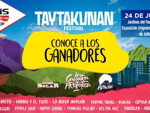 ¡Conoce a los ganadores del Taytakunan Festival!