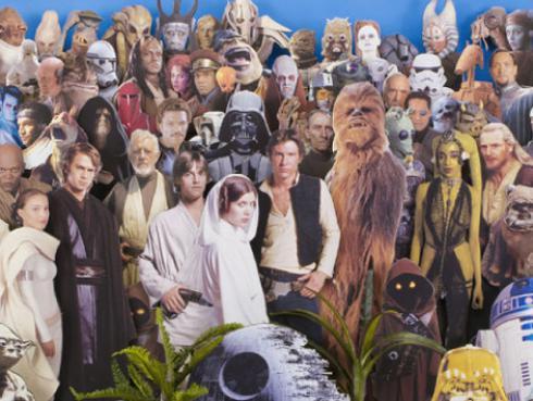 Si eres fan de The Beatles y Star Wars esta mezcla te va a encantar