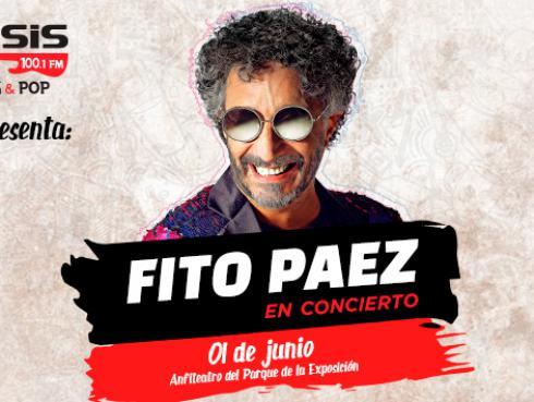 Todo listo para el concierto de Fito Páez en Lima [VIDEO]