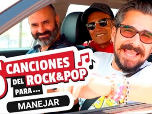 ¡TOMA NOTA! 5 canciones del rock and pop para manejar