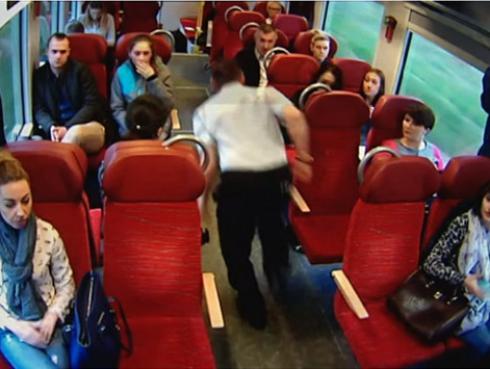 Tren estaba a punto de chocar y no creerás lo que hizo el conductor [VIDEO]