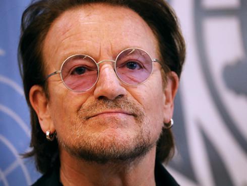 U2: Bono compuso canción contra el coronavirus